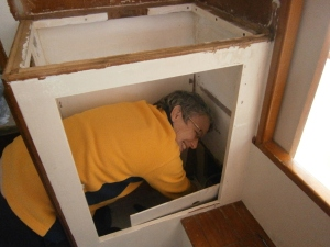 me in the cabinet