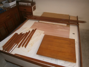 6 varnish trim