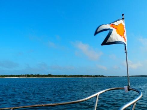 At Anchor at Dog Island
