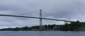 bridge along