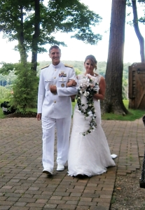 the bride and her father)